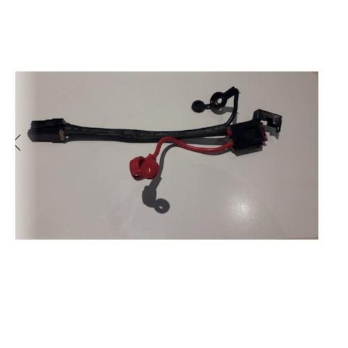 Säkringshållare med kabel, flatstiftsäkring Stiftkontakt / Skruvpoler