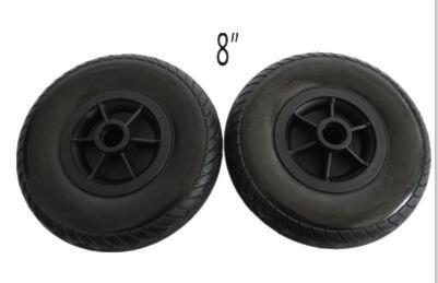 Framhjul 8 tum till Blimo Elite Dynamic - två st