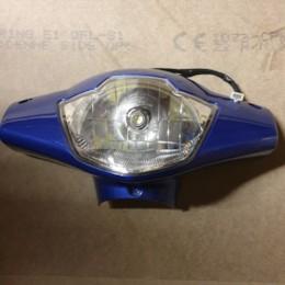 Framlampa inkl. kåpa till Blimo Moto - Blå