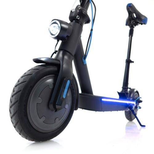Elscooter Nitrox Alu-8 Flex 250W Bluetooth m sadel - svart