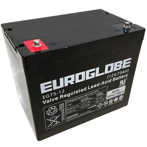 Batteri, 12V 75Ah AGM
