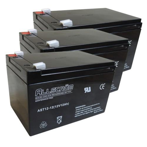 Batteriset 36 V 12 Ah