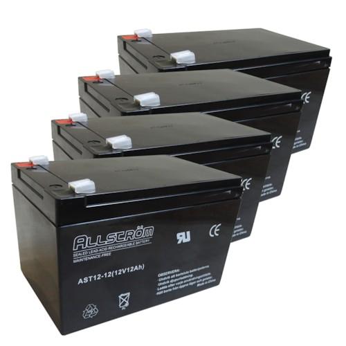 Batteriset 48V 12Ah