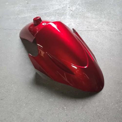 Främre stänkskärm Moto - Svart MP064