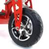 Framhjul med däck, 90/65-6,5 elscooter Race Edition tubeless