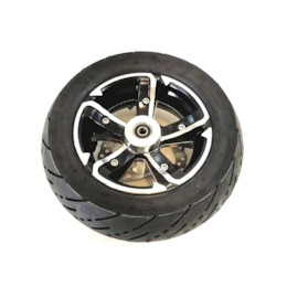 Framhjul med däck och slang, till NYA 2016 elscooter RACE edition