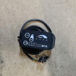 3-speed PAS-kontrollpanel till Evobike - lång kabel