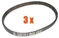 Drivrem HTD405-3M-12, 3-pack