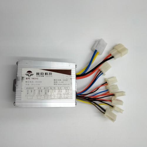 Elektronikbox 500W 24V till elmotorkit