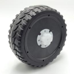 Hjul Elbil Truckster, för motormontering