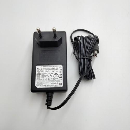 Laddare 24V 1,5A med stavkontakt