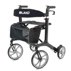 Rollator Blimo Carbon - Svart