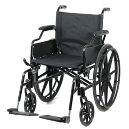 FYNDEX - Rullstol hopfällbar Premium