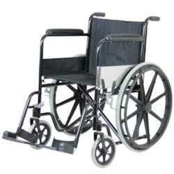 FYNDEX - Rullstol hopfällbar med stålram
